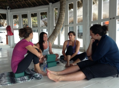 Yoga Retreat, meditation discussion group 2013