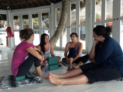Yoga Retreat, meditation discussion group 2013