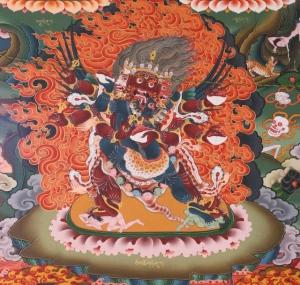 wrathful deity